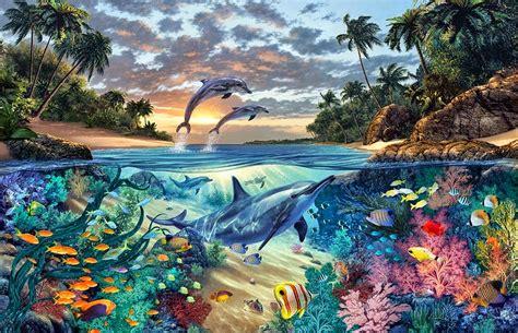 imagenes artisticas japonesas cuadros modernos pinturas y dibujos paisajes submarinos