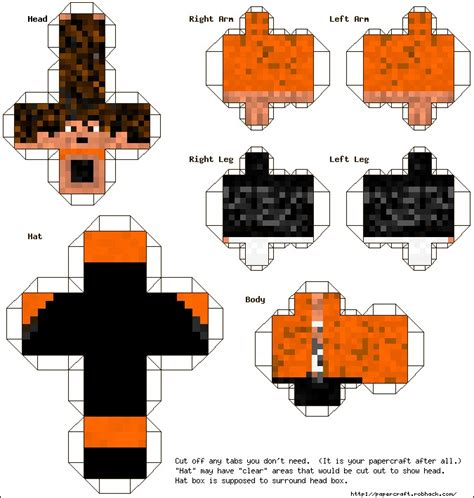 Papercraft Characters - how to make paper minecraft characters 28 images