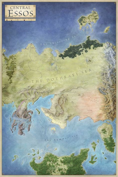 essos map central essos map for of thrones