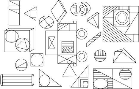 imagenes abstractas geometricas faciles composici 243 n con figuras geom 233 tricas para colorear imagui