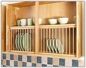 Kitchen Dish Cabinet Kitchen Cabinet Plate Rack Insert Home Design Ideas