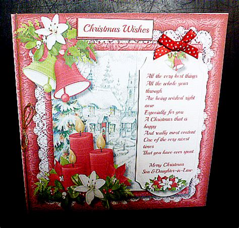 christmas wishes son daughter  law cup craftsuprint