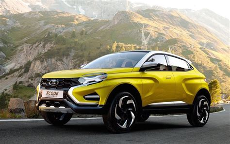 New Lada Niva Lada Xcode Concept Revealed Could Spawn Funky Suv