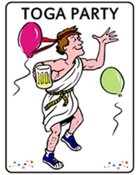 free printable toga party invitations