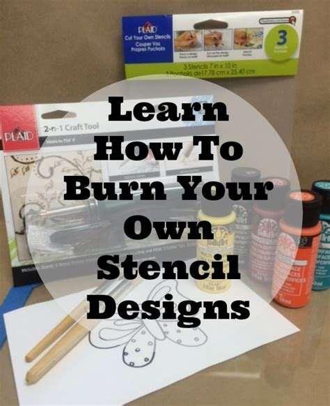 Create Your Own Custom Stencil - learn how to make your own stencil designs it s easy