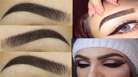 tutorial de uñas instagram cejas perfectas 2017 paso a paso compilacion eyebrow