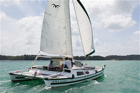 catamaran a vendre en thailande bareboat yacht charter in thailand on catamaran tiki 30