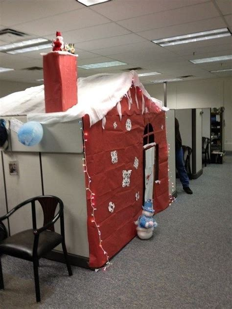 office mate christmas ideas now that s the way to decorate your cube for the holidays lol decorating and
