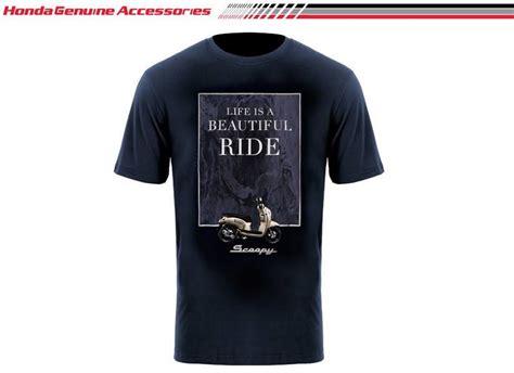 Kaos Motor Honda Scoopy 018507 scoopy lbr t shirt navy merchendise resmi kaos honda