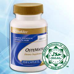 Vitamin Ostematrix ostematrix shaklee
