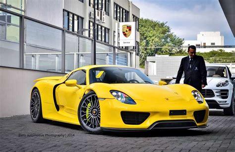 porsche spyder yellow top porsche 918 spyder colors