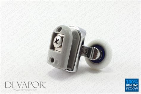 Curved Shower Door Rollers Di Vapor R Top Glass Curved Shower Door Roller 6mm To 8mm Glass Ebay