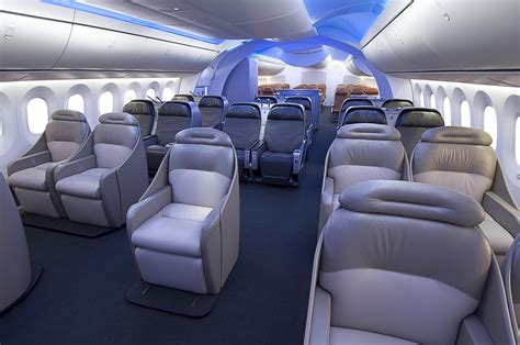 aviation upholstery boeing s 787 is as innovative inside as outside wired