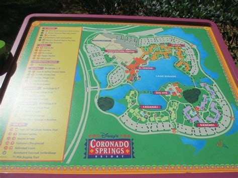 coronado springs resort map mickey s on the pillow picture of disney s coronado springs resort orlando tripadvisor