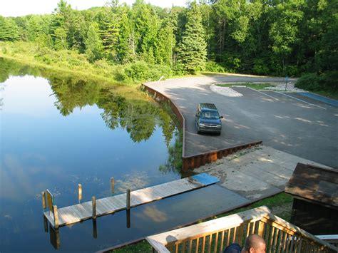 dnr boat launch dnr ocqueoc river boat launch michigan water trails
