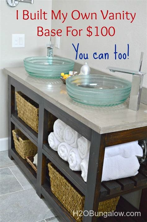 bathroom vanity ideas diy 25 best ideas about diy bathroom vanity on pinterest