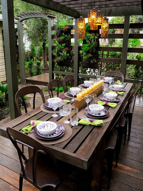 Patio Table Decor 13 Ready Outdoor Spaces Entertaining Ideas Themes For Every Occasion Hgtv