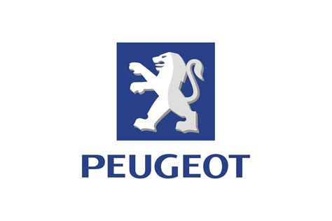 peugeot car names silver logo name