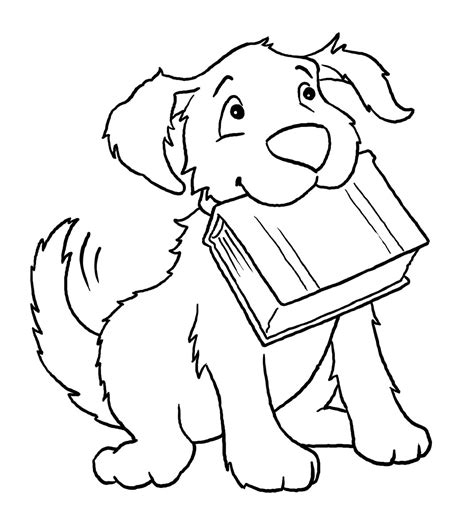 simple dog coloring page free coloring pages of d dogs simple dog drawings for kids
