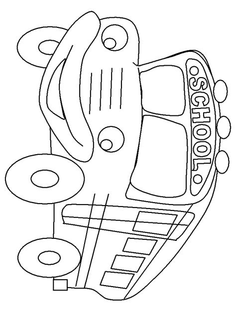 coloring pages of school busses school bus coloring pages coloring home