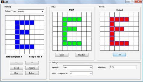 pattern classification using matlab تشخیص اعداد matlab فروش پروژه های دانشجویی و کاری نامیرا
