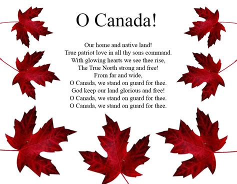 Oh Canada The For And - oh canada fabricland