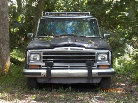 1986 Jeep Wagoneer Parts Purchase Used 1986 Jeep Grand Wagoneer Base Sport Utility