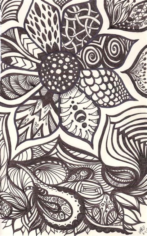 doodle drawing designs best 25 sharpie doodles ideas on zentangle