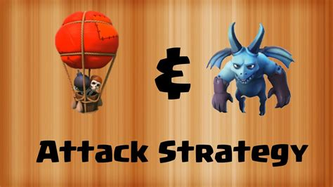 Kaos Coc Baloonion Minion clash of clans balloons minions attack strategy balloonion