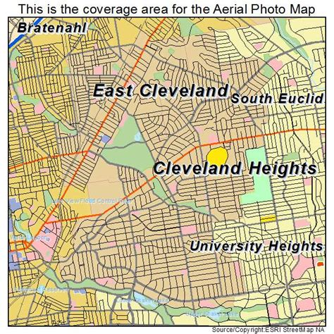 map of cleveland ohio detailed map cleveland ohio pictures to pin on pinsdaddy