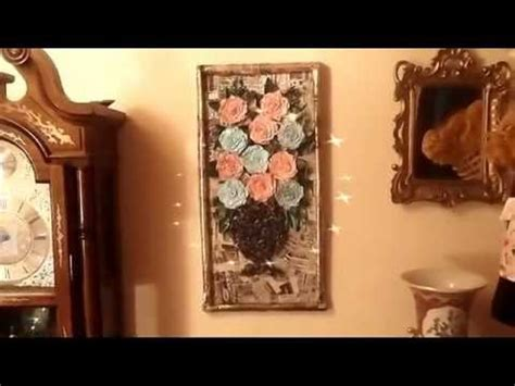 home decor news news paper crafts for home decor youtube