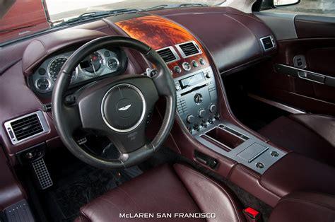 Aston Martin Db9 Interior by Aston Martin Db9 Convertible Black Image 45