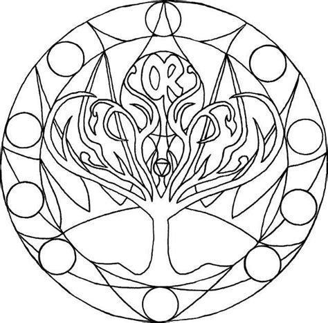 Chakra Coloring Pages free coloring pages of chakra mandala