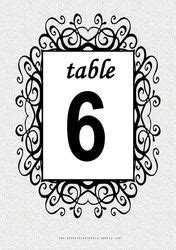 wedding table numbers with pictures template 1000 images about wedding table decorations on