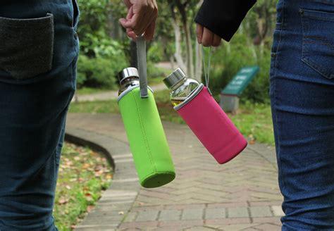 Botol Minum Owl Bpa Free Dengan Saringan Teh T3010 6 botol minum kaca transparan 550ml multi color