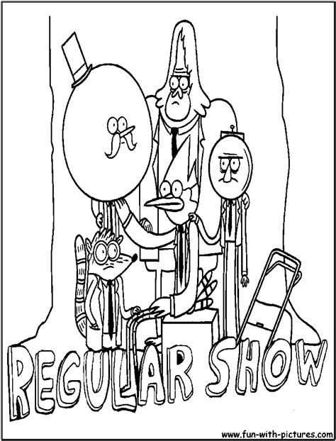 printable coloring pages regular show free coloring pages of rigby from regular show