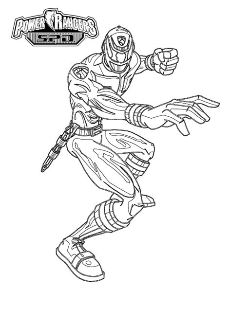 coloring page power rangers coloring pages 48