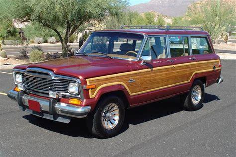 Jeep Grand 1985 1985 Jeep Grand Wagoneer Wagon 81257