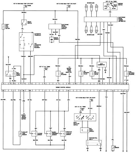 cadillac eldorado  wiring diagram  circuit  wiring diagram