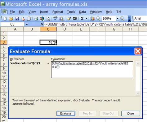 excel vba formula array 255 excel vba arrays one vba excel formula in array excel vba return array