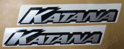 Suzuki Tank Decals Katana Suzuki Decals Stickers Emblem 600 750 1000 1100