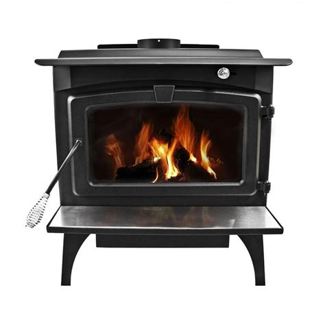 Large Wood Burning Fireplaces by Pleasant Hearth Large Wood Burning Stove With Legs Lws 130291