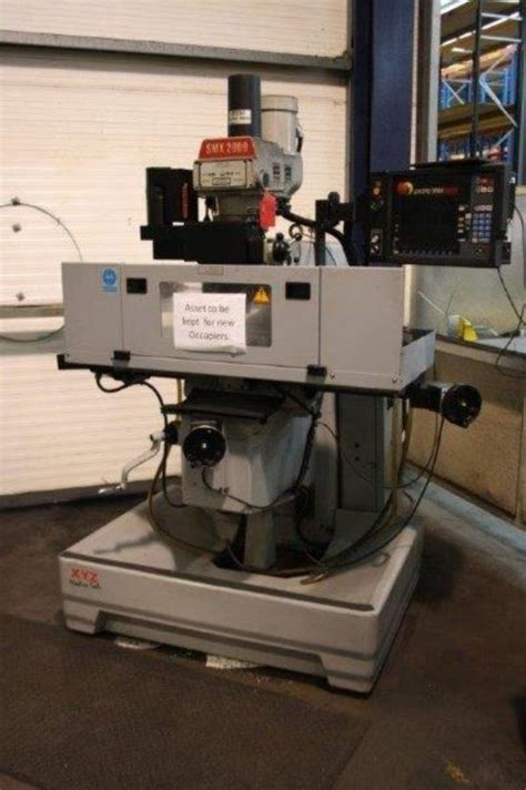 xyz smx  bed milling machine  sale machinery