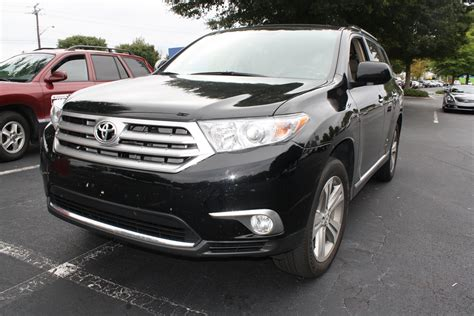 2012 Toyota Highlander Limited 4D Utility   Diminished