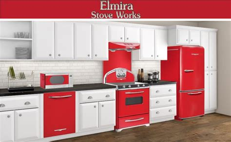 red kitchen appliances red kitchen appliances custom landscape style or other red