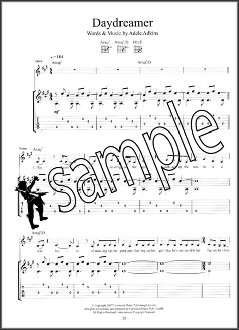 guitar chords for adele best for last the best of adele for guitar tab sheet music book pop