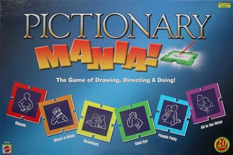 pictionary gioco da tavolo pictionary mania gioco da tavolo gdt tana dei goblin