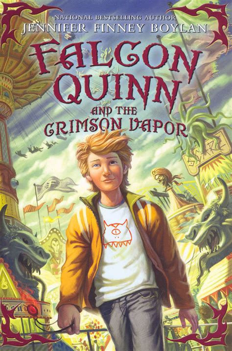 Falcon Quinn The Black Mirror By Finney Boylan falcon quinn ii