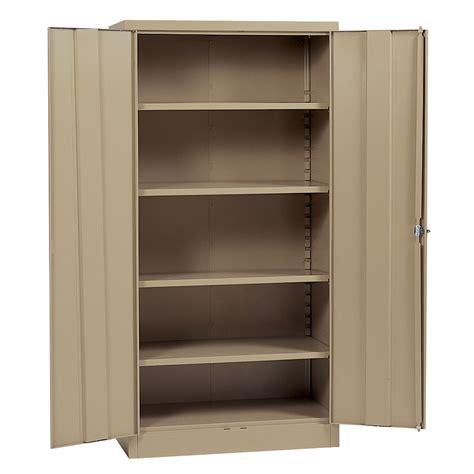 edsal 78 quot h x 36 quot w x 18 quot d steel cabinet tools garage