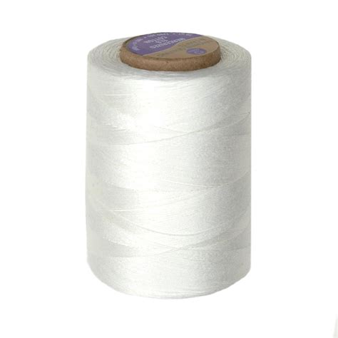 Best Quilting Thread by Cotton Machine Quilting Thread 1200 Yd Winter White
